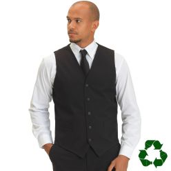 Joseph Alan Unisex Black Waistcoat