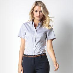Kustom Kit Womens Oxford Short Sleeve Shirt