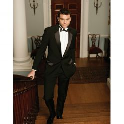 Dermot Flat Front Tailored Men's Trousers