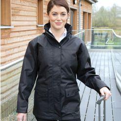 Result Work-Guard Managers Platinum Ladies Jacket