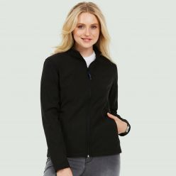 Uneek Ladies Classic Full Zip Soft Shell Jacket