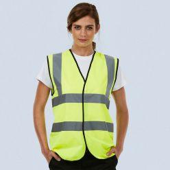 Uneek Sleeveless Safety Waistcoat