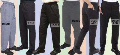 Choosing your perfect pair of chef trousers