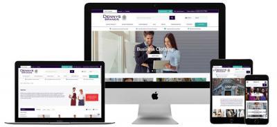 Dennys new website